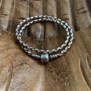 Pandora Double Wrap Charm Bracelet